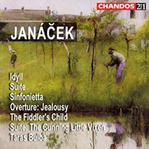 Janáček Idyll/Suite for Strings/Sinfonietta/Jealousy